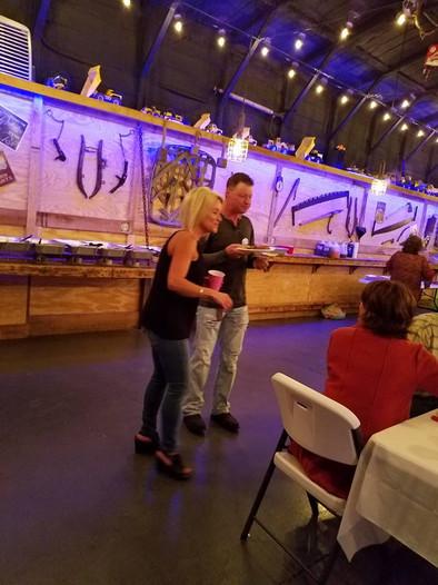 Angela and Eddie