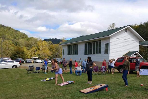 Corn Hole Tournament at Beech Community Center.