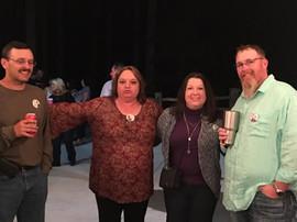 Bruce, Karen, Pam and Wally