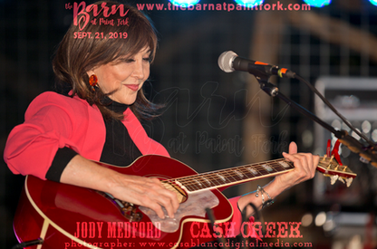 Pam Tillis Trio performs at The Barn on September 21, 2019 with special guests Cash Creek and Jody Medford.