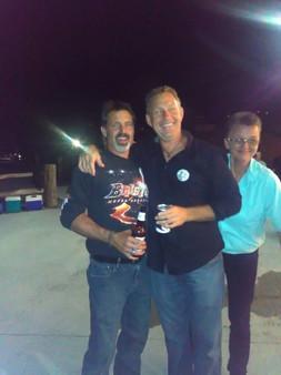 Keith Sutton, Greg Gilsdorf and Rhonda Patton Merriman