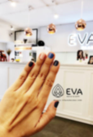 Facade at EVA nails & café