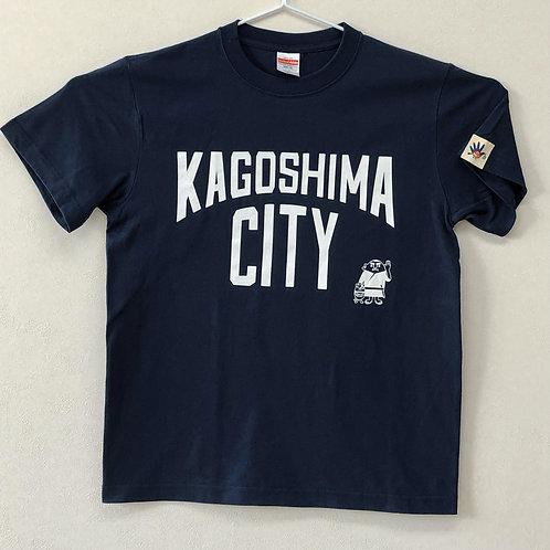 KAGOSHIMACITY(綿Tシャツ) インディゴ