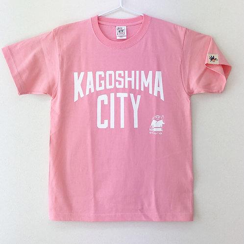 KAGOSHIMACITY(綿Tシャツ) ピンク