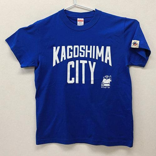 KAGOSHIMACITY(綿Tシャツ) ロイヤルブルー
