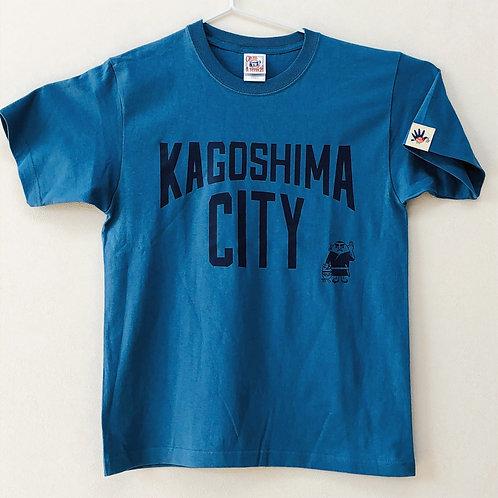 KAGOSHIMACITY(綿Tシャツ) ターコイズ