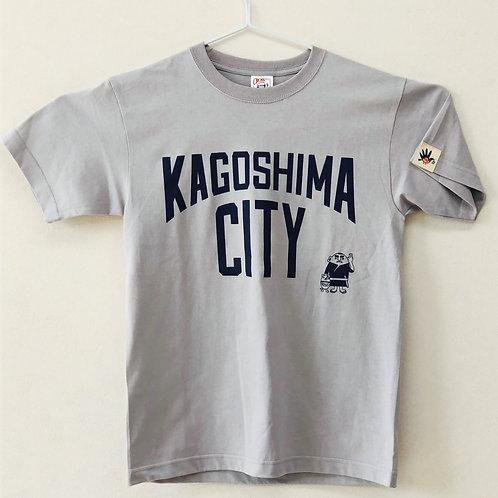 KAGOSHIMACITY(綿Tシャツ) シルバーグレー