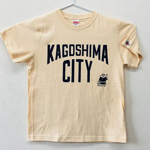 KAGOSHIMACITY(綿Tシャツ) ナチュラル