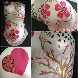 Leopard, floral, embellished cast