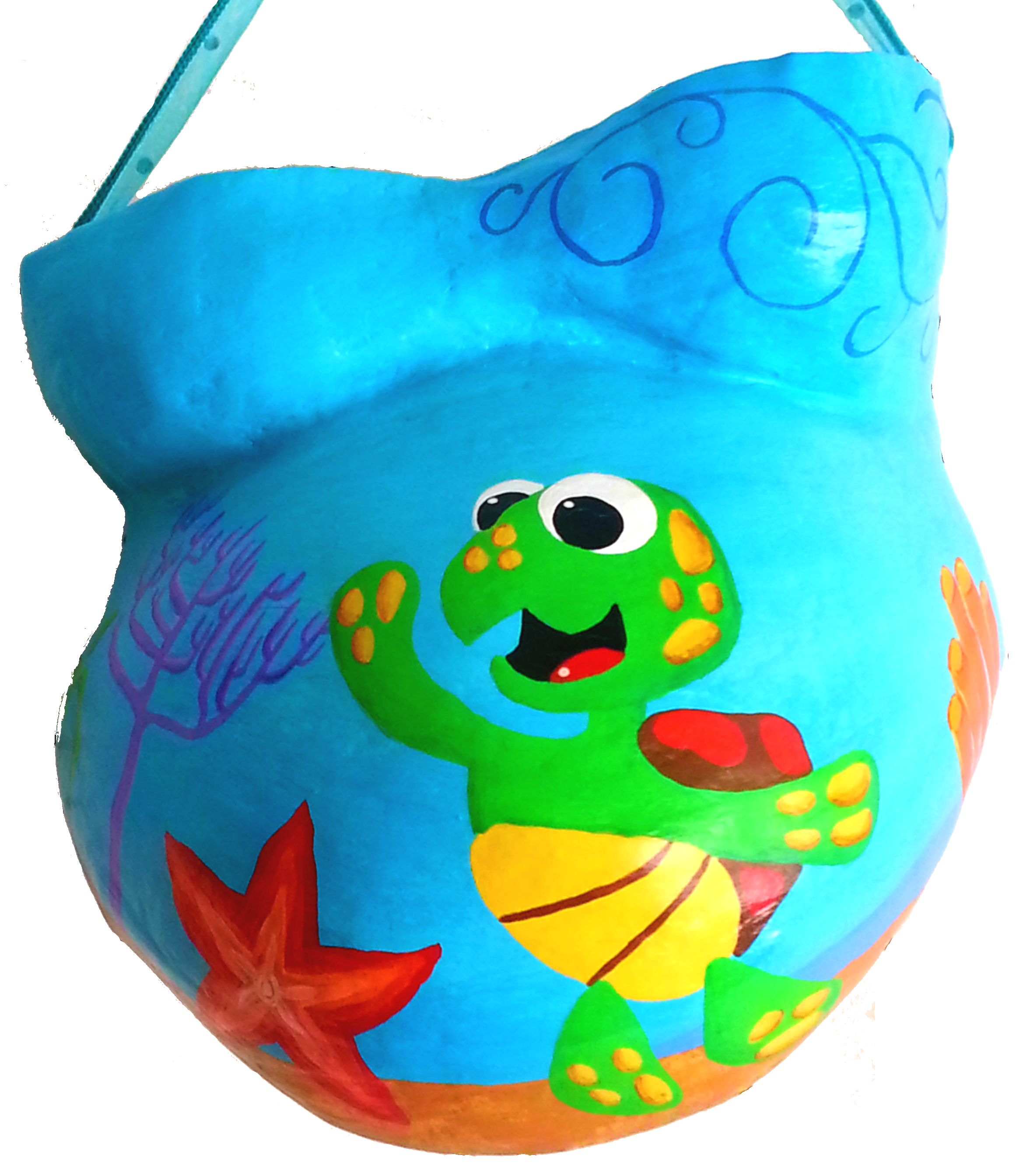 Whimsical Turtle Under the Sea Cast