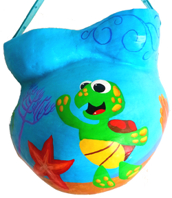 Whimsical Turtle Under the Sea Theme