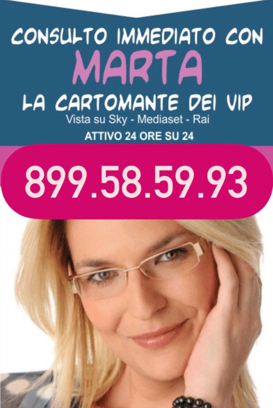 Chiama Marta Cartomante 899.58.59.93