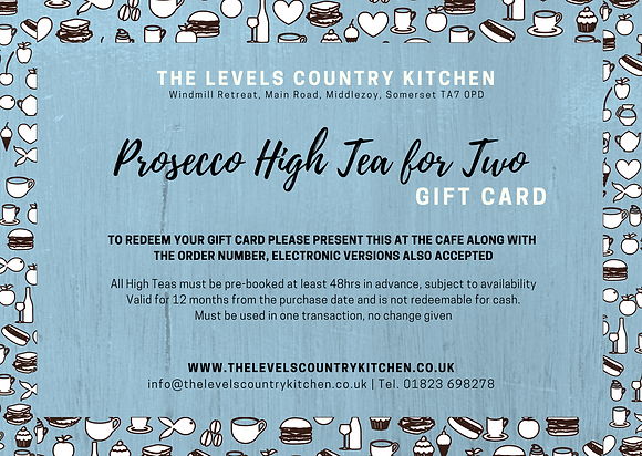 Prosecco High Tea for Two