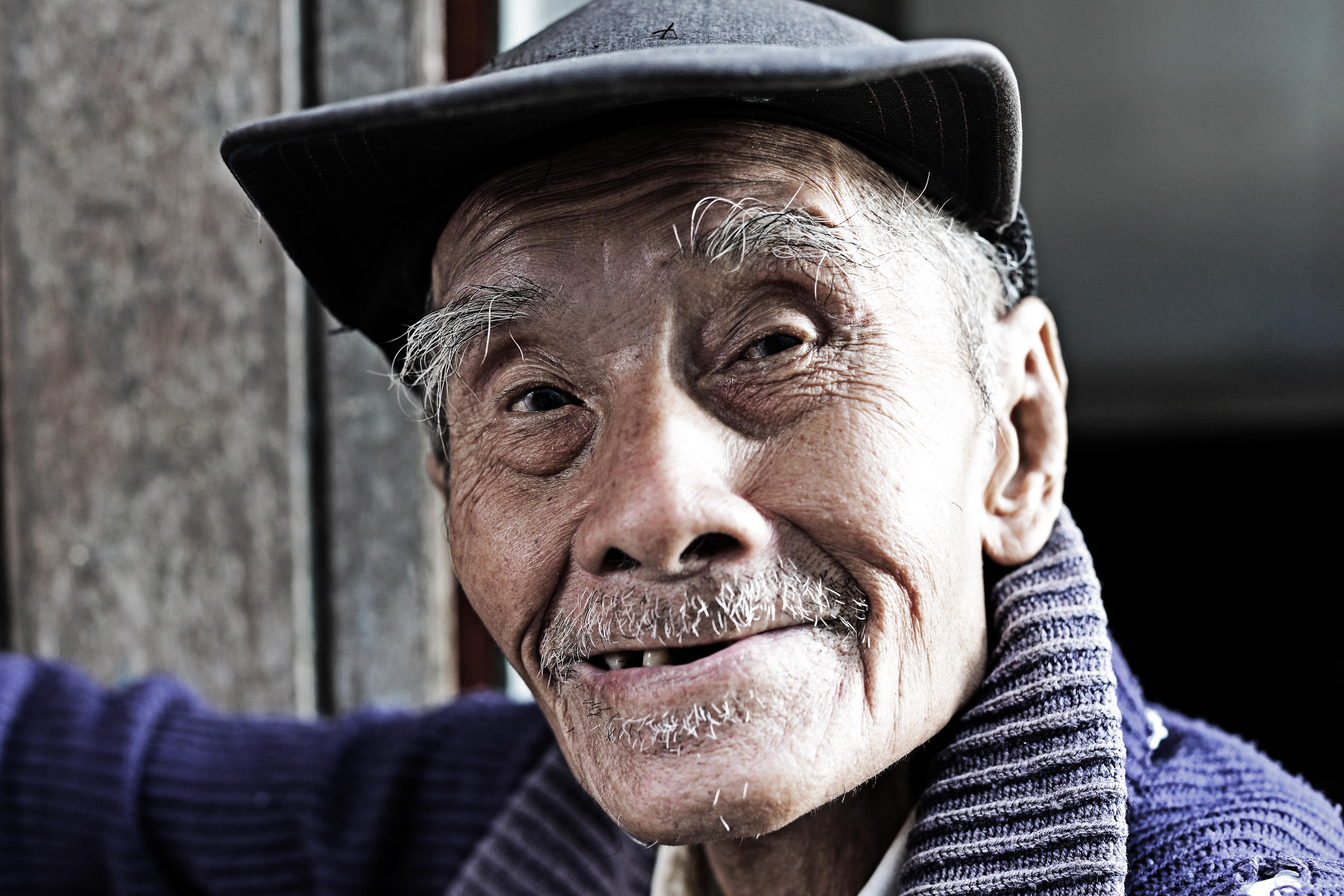 Amphawa Man 1 - 100 years old