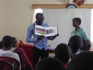 Kibera the book returns home...