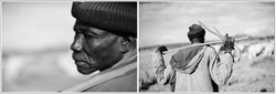 Maasai Herdsman Diptych