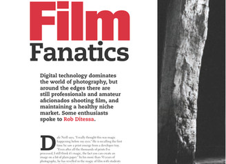Article on Film Photography in Australian Photography