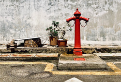 Fire hydrant, Georgetown