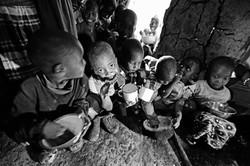 Samburu Kids Eating