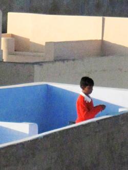 Pushkar rooftops
