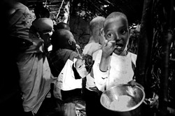 Samburu Kid Eating