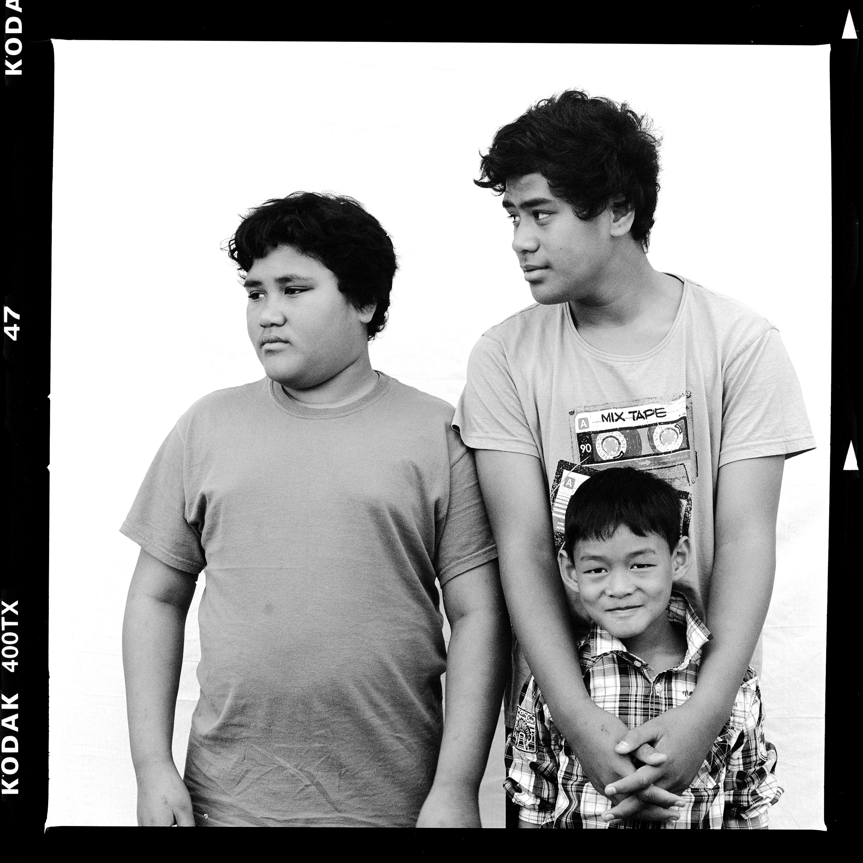George, Benjamin and Dan