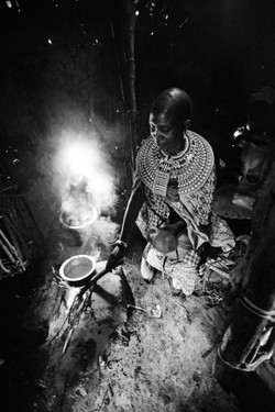 Samburu Woman Cooking