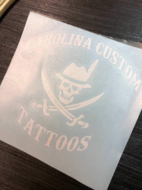 Carolina Custom Sticker