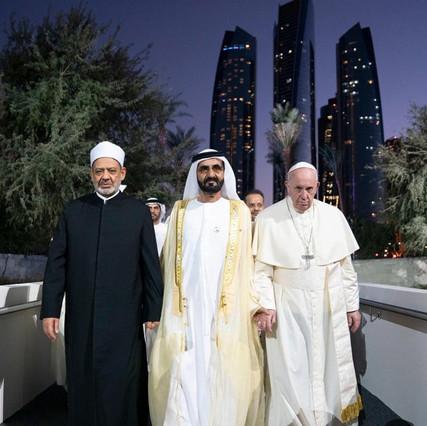 bergoglio emirati