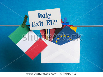 italexit and flag