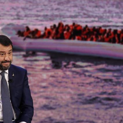 SALVINI barconi profughi sbarchi ATTA (1
