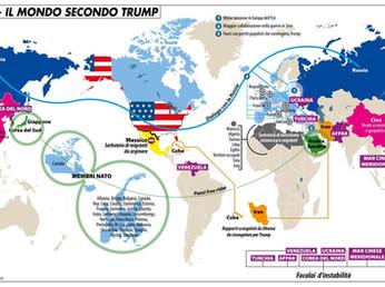 Scenari geopolitici: Libia, Siria, Corea del nord, dazi USA e NATO...