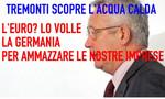 Tremonti: «L'Italia entrò nell'euro per l'interesse tedesco Uscirne? Sarebbe distruttivo»