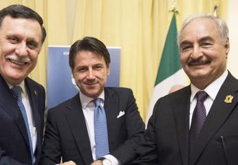 Conferenza Libia a  Palermo