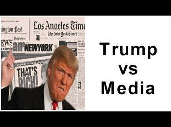 """""""Journalists are the most dishonest human beings on earth"""" Donald Trump"""
