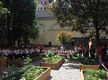 Inaugurato il primo lotto della 'biblioteca degli alberi'