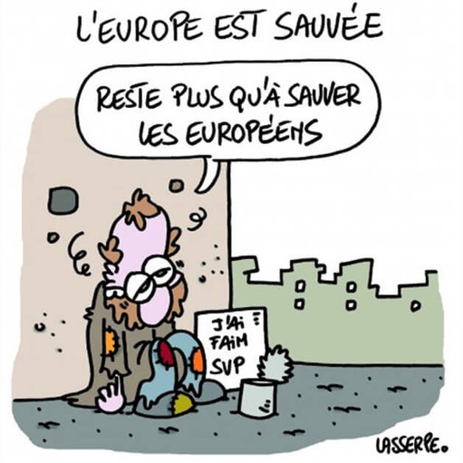 dessin-cartoon-grece-europe-sauvee