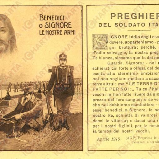 preghiera del soldato italiano