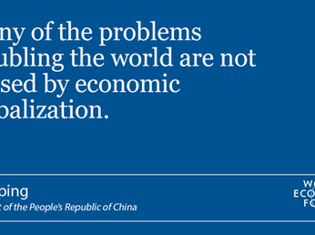 Davos: salvare l'ordine liberale.
