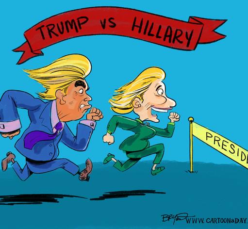 hillary-clinton-vs-donald-trump-cartoon-598