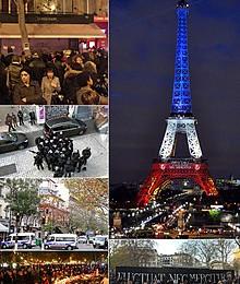 La cattura dei Terroristi responsabili degli attentati terroristi a Parigi