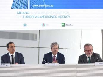 Ema (agenzia UE del farmaco), Gentiloni: «Milano in campo per vincere la partita»
