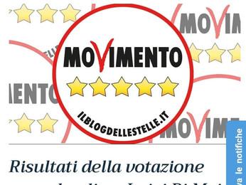 """Il voto online conferma Di Maio: """"Novità sui ruoli"""""""