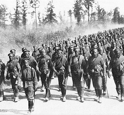 fanteria russa