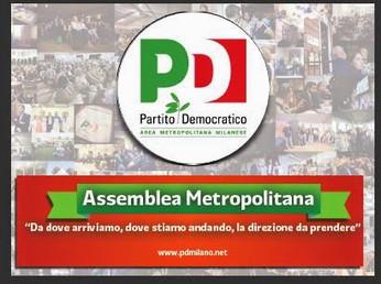 Assemblea area metropolitana PD Milano