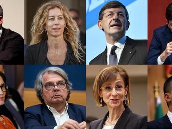Profili dei ministri de governo Draghi: 15 politici e 8 tecnici. Le donne sono un terzo