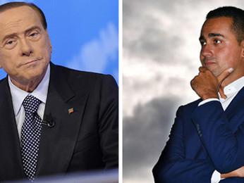 """Silvio Berlusconi contro Luigi Di Maio: """"Una meteorina della politica, il nulla assoluto"""""""