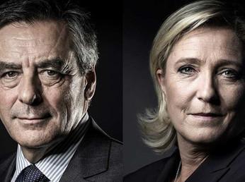 In corsa per l'Eliseo. Fillon vs Marine Le Pen  (ma la lower class voterà Marine, non socialista