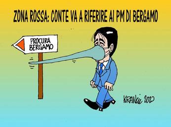 Zona rossa: Bergamo non dimentica.