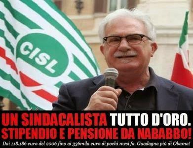 Bonanni-cisl-stipendio-oro-pensione-sindacato-sindacalista-raffaele-dimissione